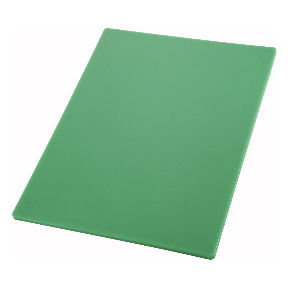 Thick Green Cutting Board - 18 X 24 X 1/2 (Vegetable & Fruit Board)