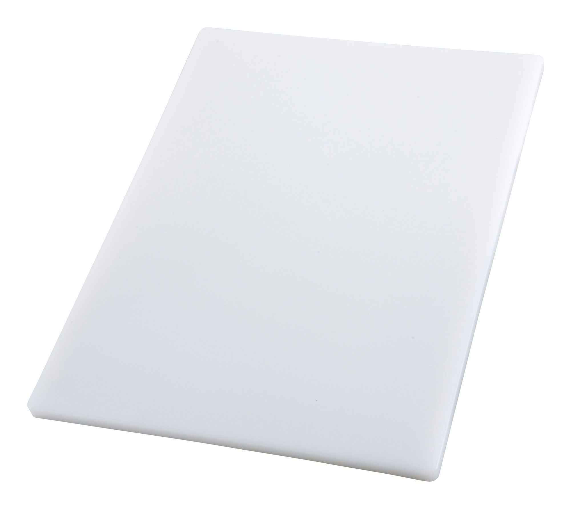 "Winco CBH-1218 White Plastic Cutting Board 12"" x 18"" x 3/4"""