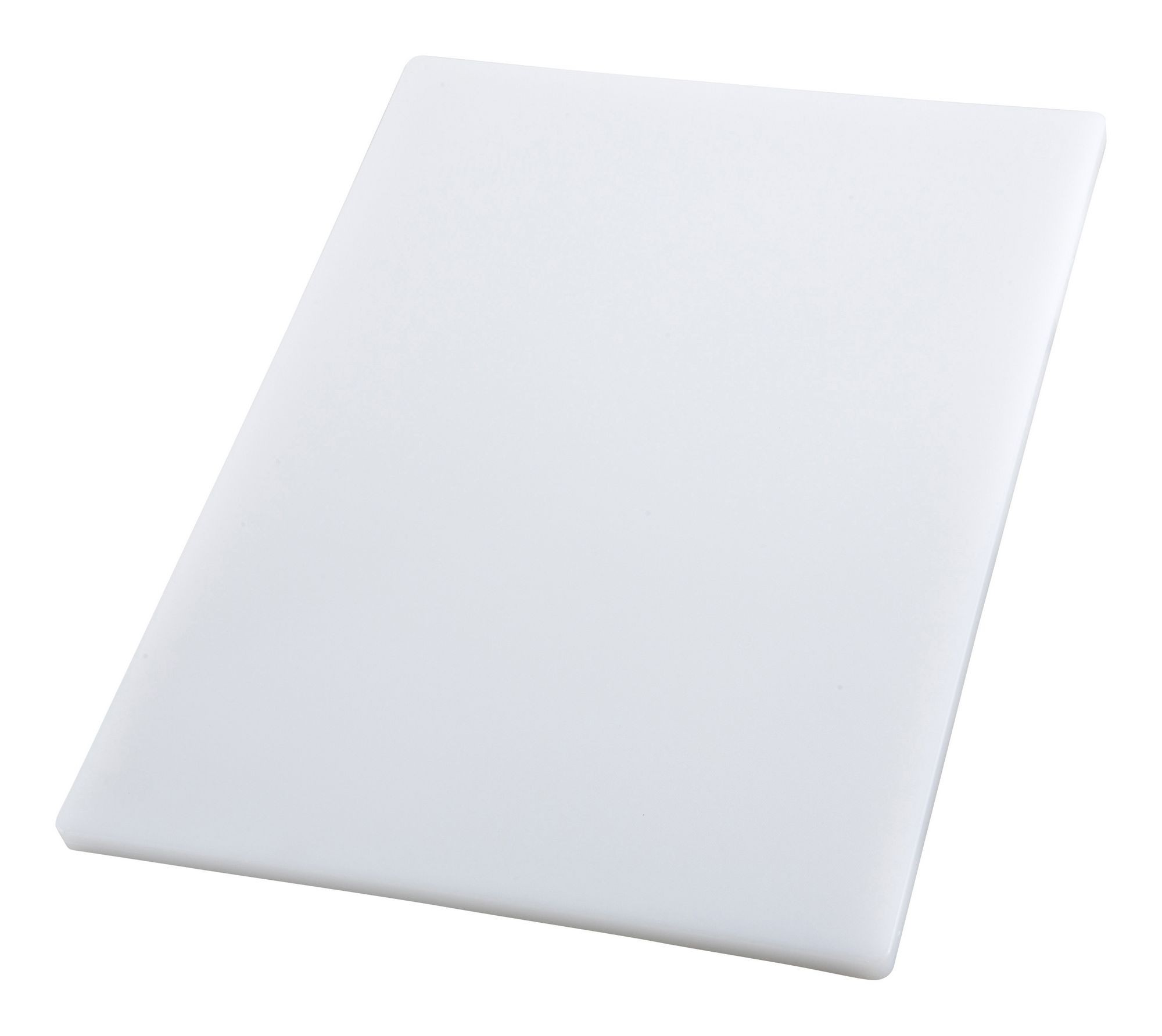 Winco CBH-1824 White Plastic Cutting Board 18 x 24 x 3/4""
