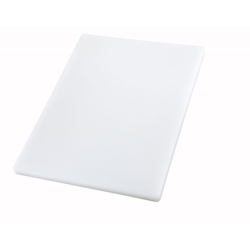 "Winco CBXH-1824 White Cutting Board 18"" x 24"" x 1"""