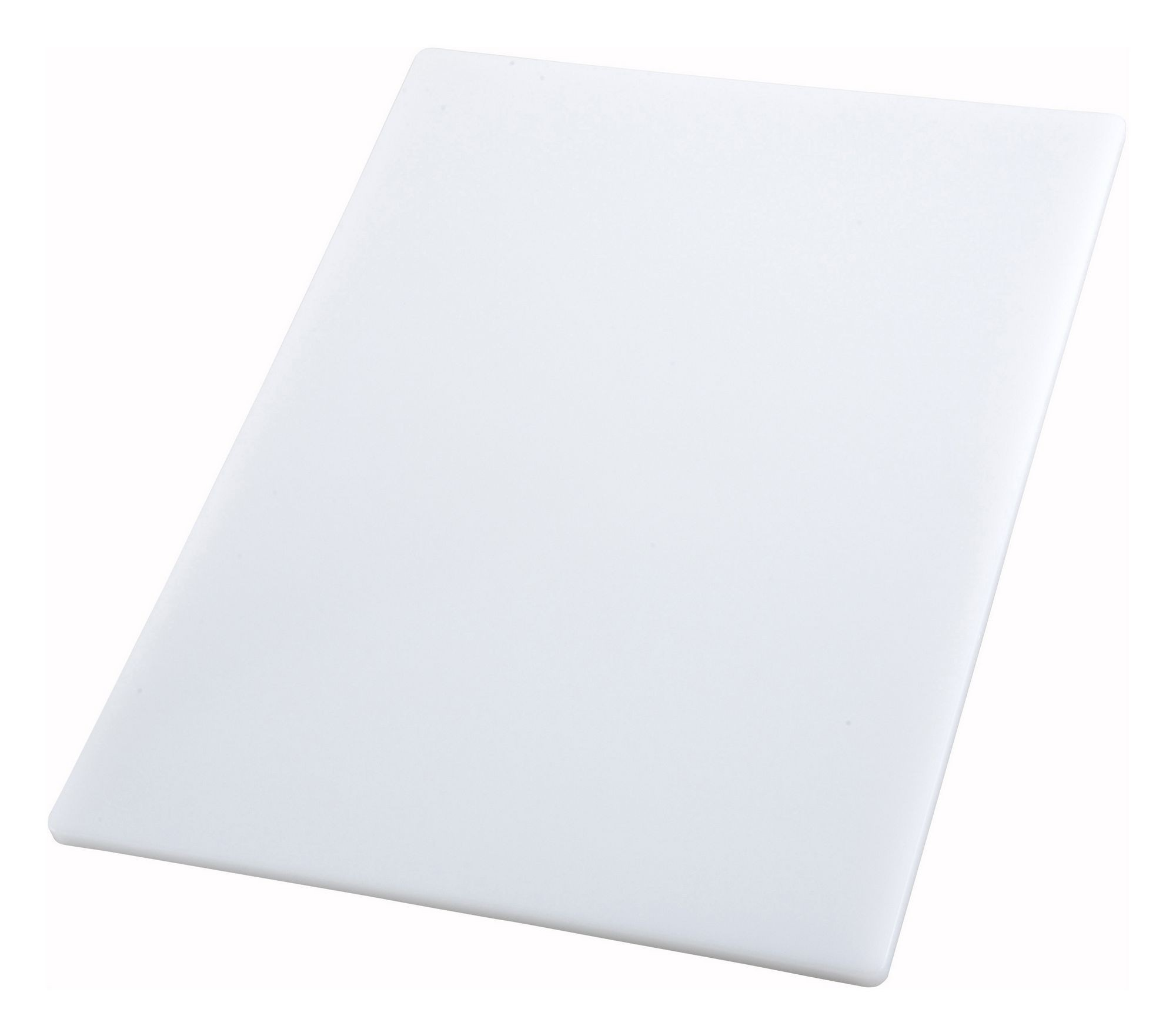 "Winco CBWT-1218 White Cutting Board 12"" x 18"" x 1/2"""