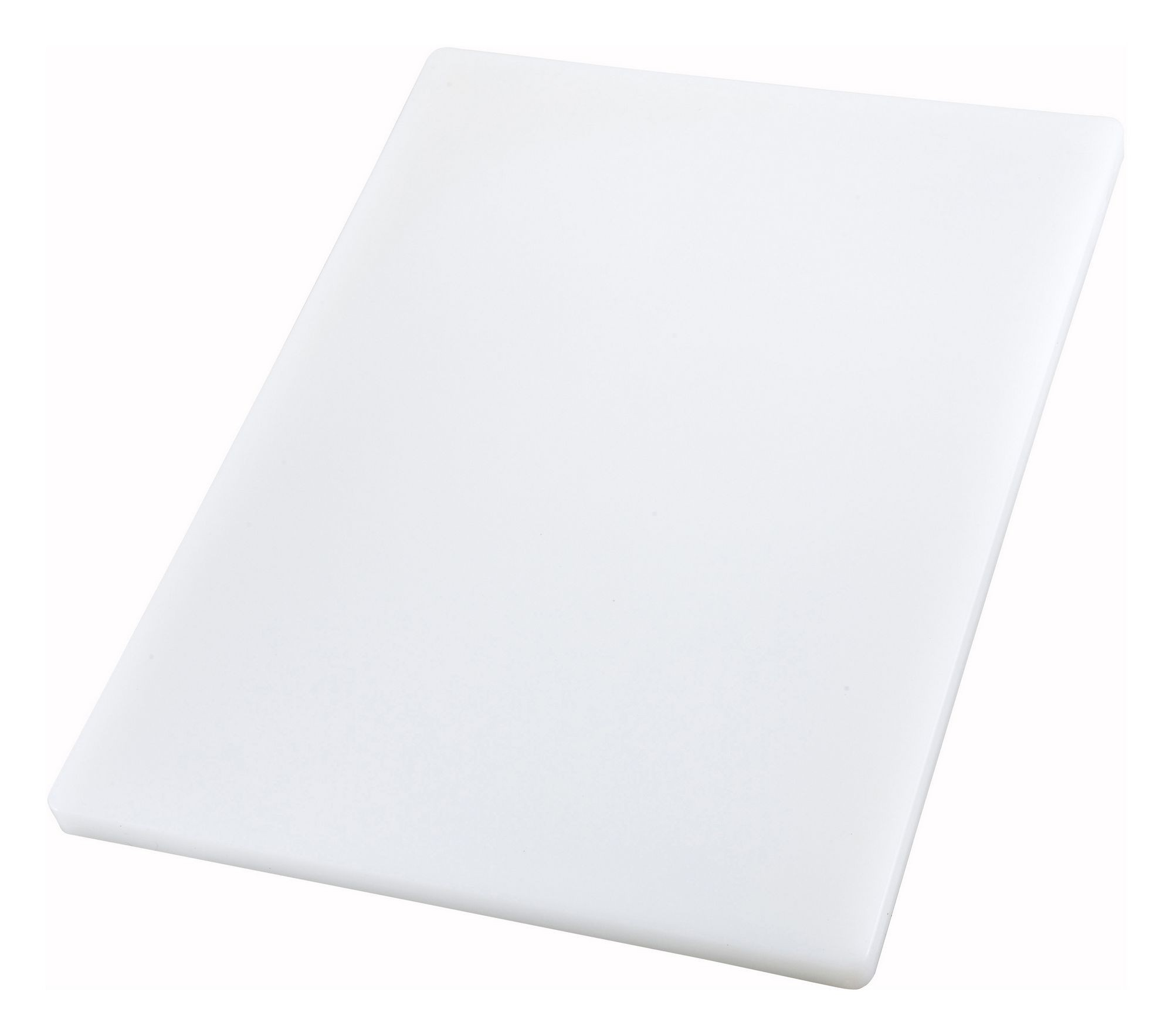 "Winco CBXH-1218 White Cutting Board 12"" x 18"" x 1"""