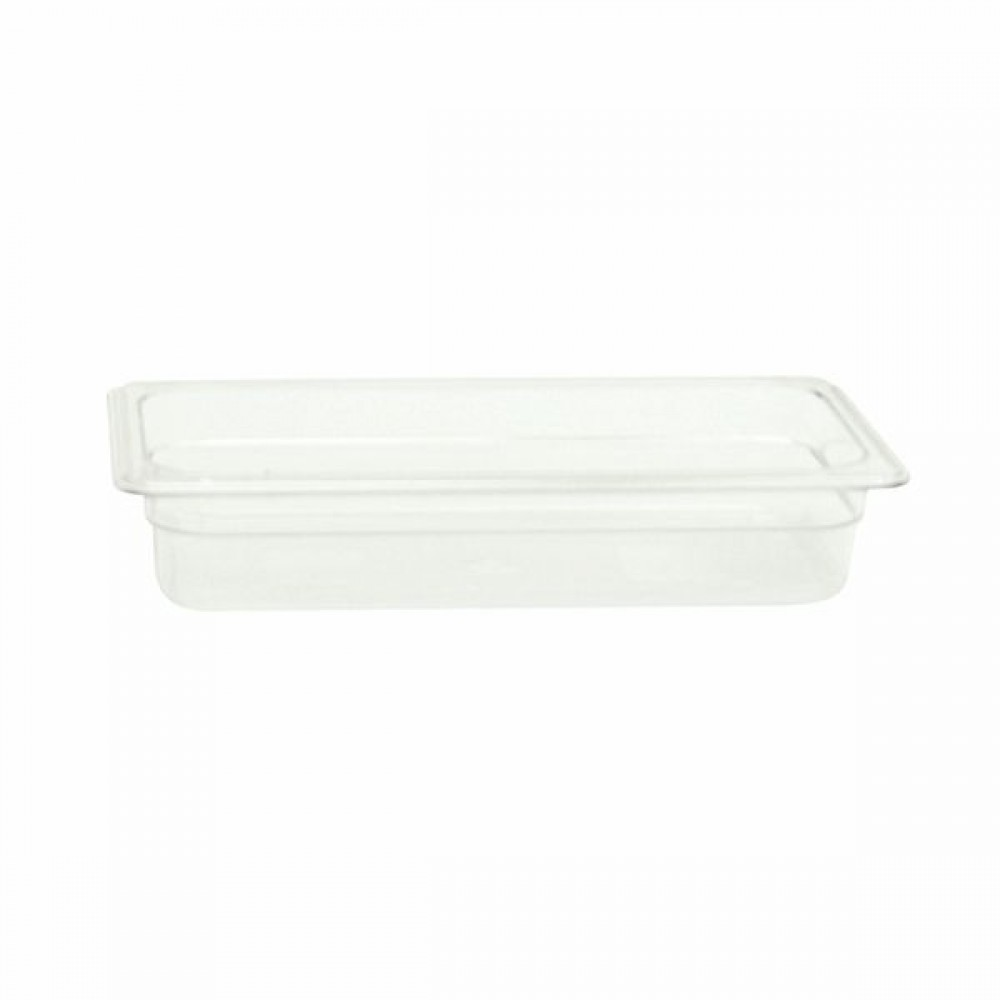"Thunder Group plpa8132 Third Size 2 1/2"" Deep Plastic Food Pan"