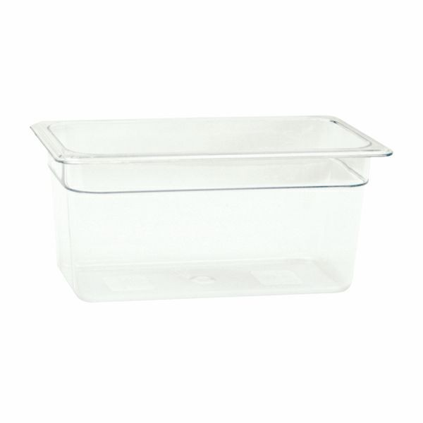 Thunder Group PLPA8136 Third Size Plastic Food Pan