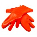 """Franklin Machine Products  133-1330 Three-Finger Food-Grade Silicone Glove Pair 18"""""""
