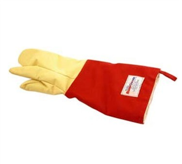 Franklin Machine Products  133-1343 Three-Fingered Glove Pair with Removable Liner 18""
