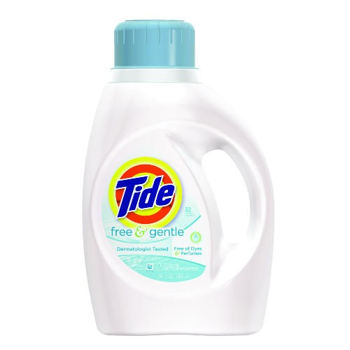 Tide 2X Liquid Free Detergent, 50 Oz