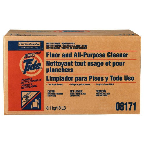 Tide Floor & Cleaner Box, 18 lb