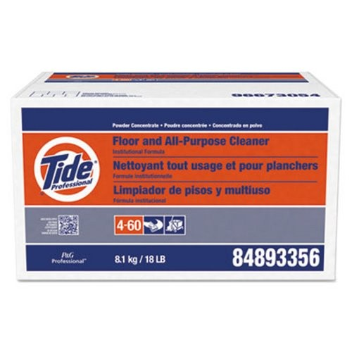 Tide Floor &  All Purpose Cleaner, Powder, 18-lb. Box