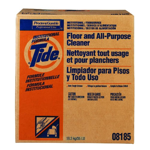 Tide Floor & Cleaner Box, 36 Lb