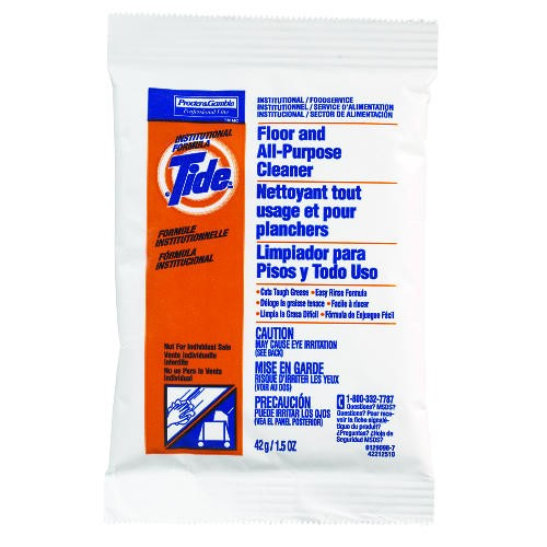Tide Floor & Cleaner Packets, 1.5 Oz