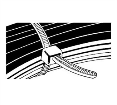 Franklin Machine Products  253-1112 Tie, Wire (8-3/16L) (100)