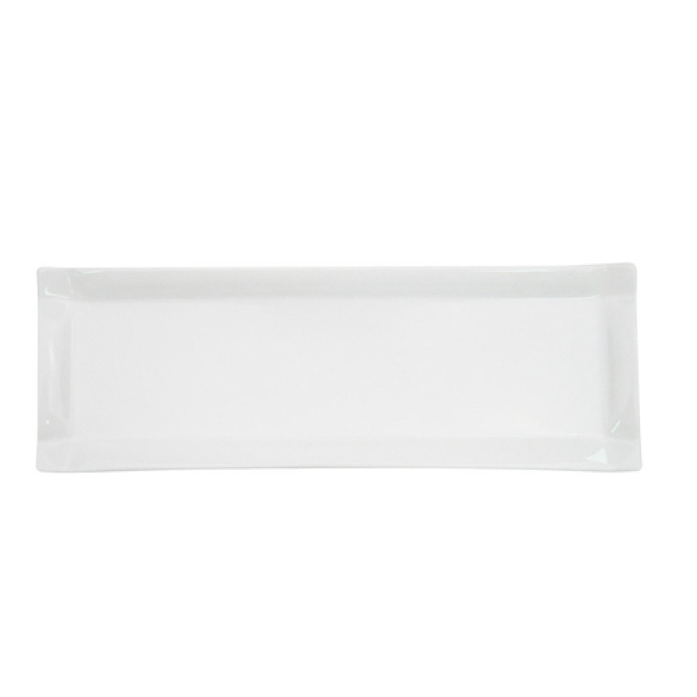 "CAC China tms-61 Timesquare Rectangular Platter, 16"" x 5-1/2"""