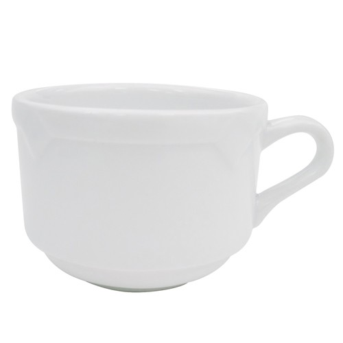 CAC China TMS-1 Timesquare Stackable Cup 8 oz.