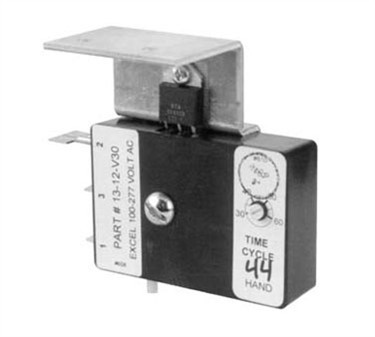 Franklin Machine Products  268-1011 Timer (120-220V, with Brack, Excel)