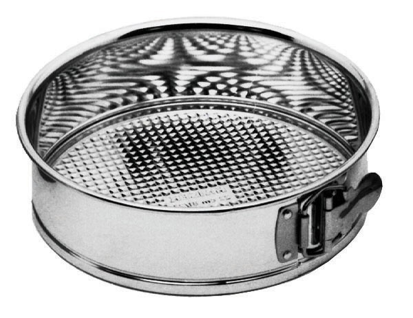 Tin-Plated Steel Springform Cake Pan - 8-1/2