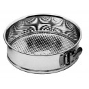 Tin-Plated Steel Springform Cake Pan - 9-1/2