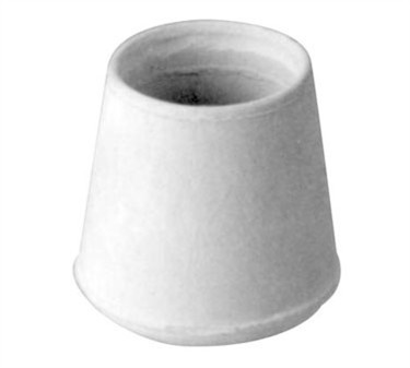 Franklin Machine Products  121-1042 Tip, Crutch (F/ 1-1/4Tube, Wht )