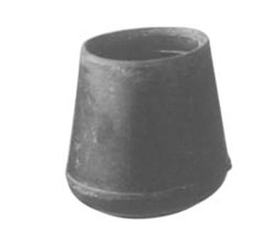 Franklin Machine Products  121-1141 Tip, Crutch (F/1-1/8Tube, Blk )