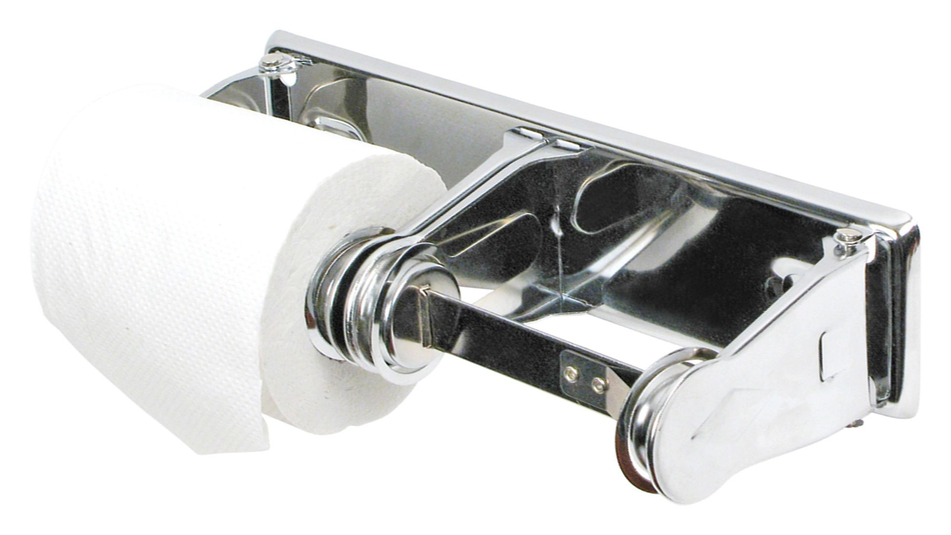 Winco TTH-2 Double Roll Toilet Tissue Holder