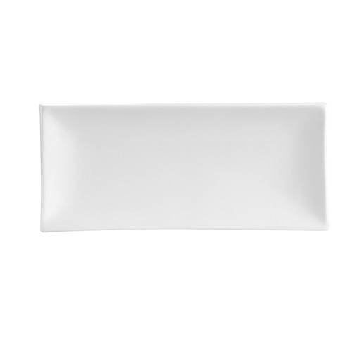 "CAC China TOK-14 Tokyia Rectangular Thick Rectangular Platter, 13 1/2"" x 6"""