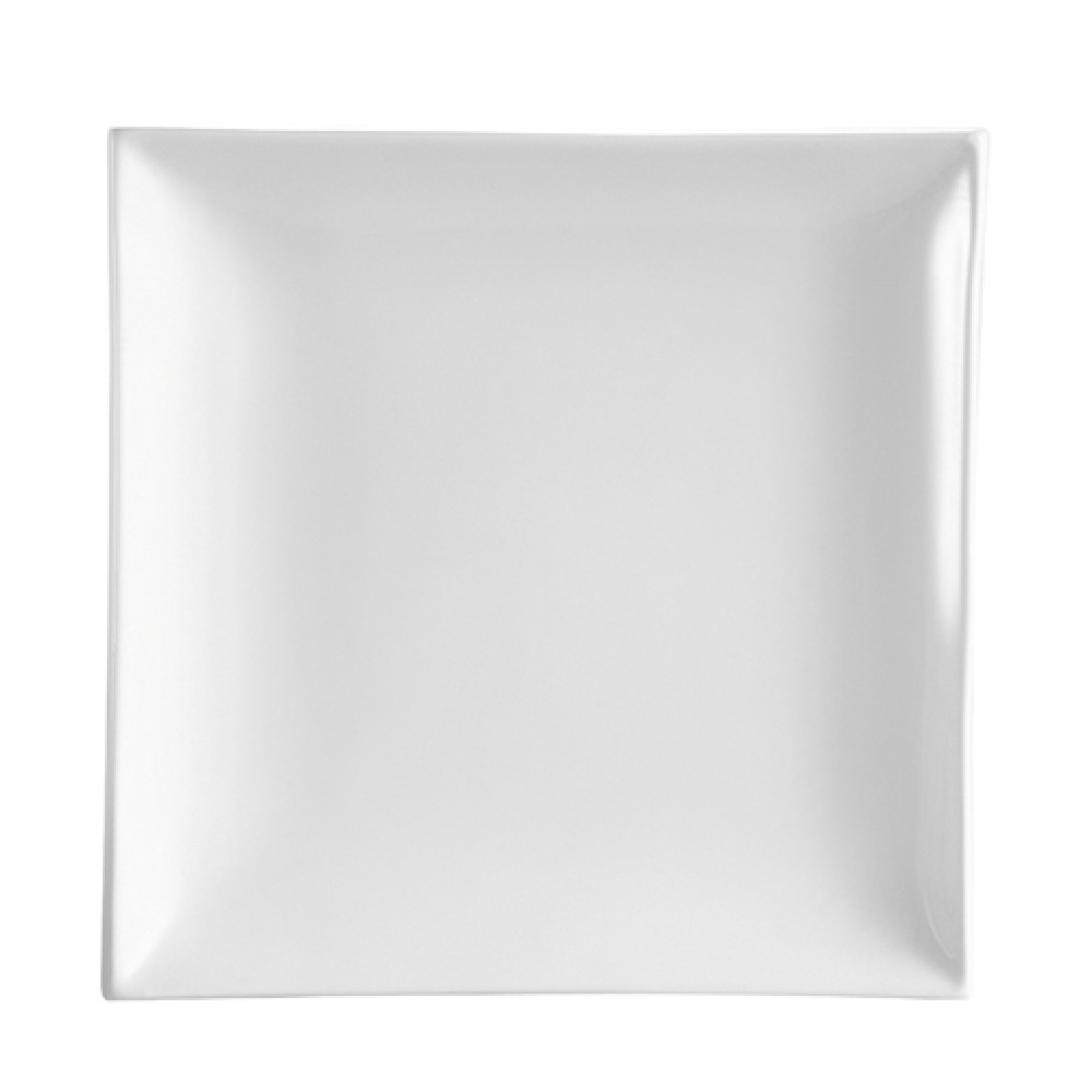 CAC China TOK-8 Tokyia Thick Square Plate, 8 1/2""