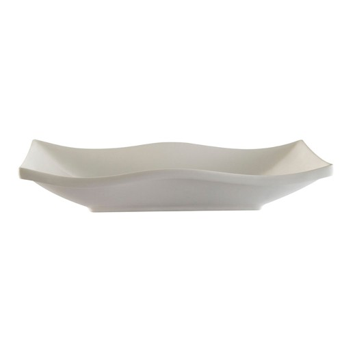 Tokyia Wave Rim Rectangular Deep Platter 48Oz