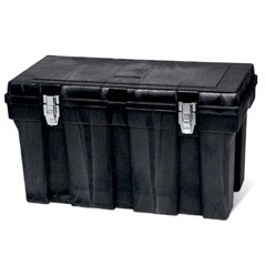 Tool Box, 36w x 18-1/2l x 20-1/8h, Structural Foam, Black