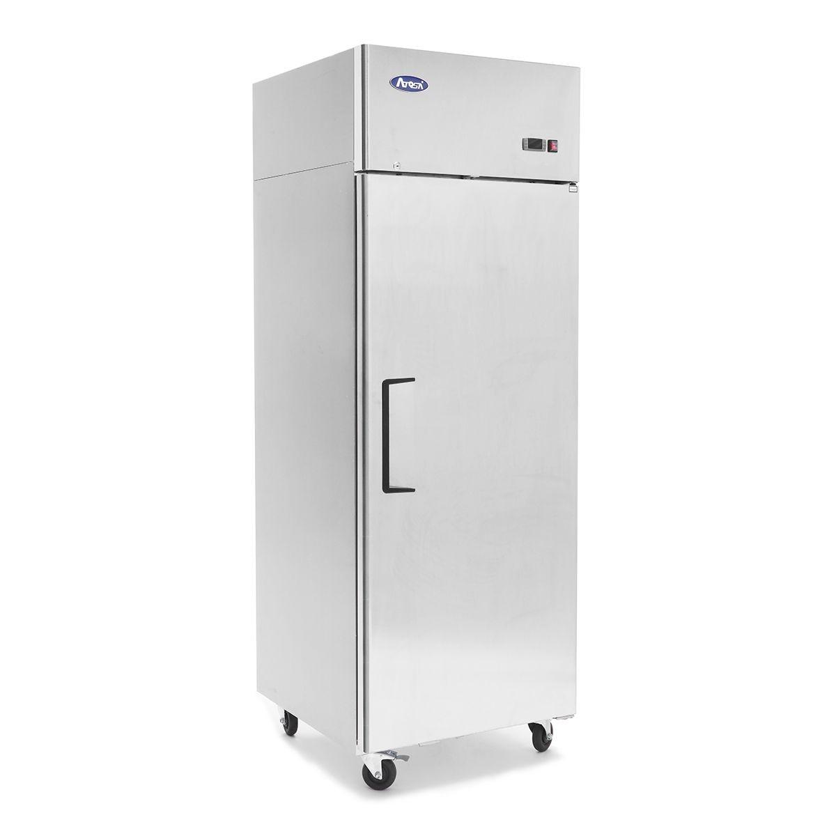 Top Mount (1) One Door Freezer Dimensions: