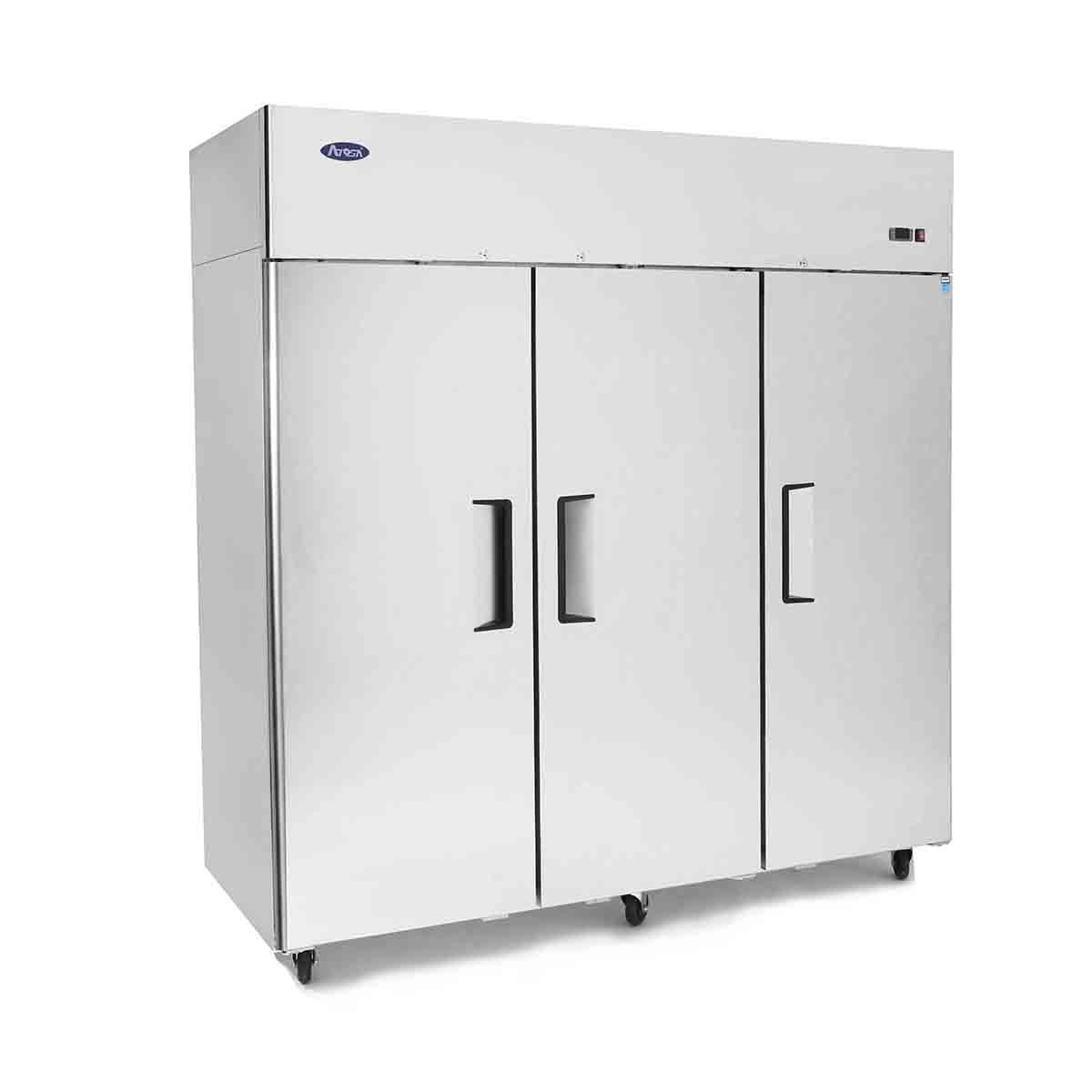 Top Mount (3) Three Door Freezer Dimensions: