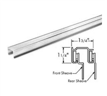 Franklin Machine Products  134-1049 Track, Overhead (72, Alum )