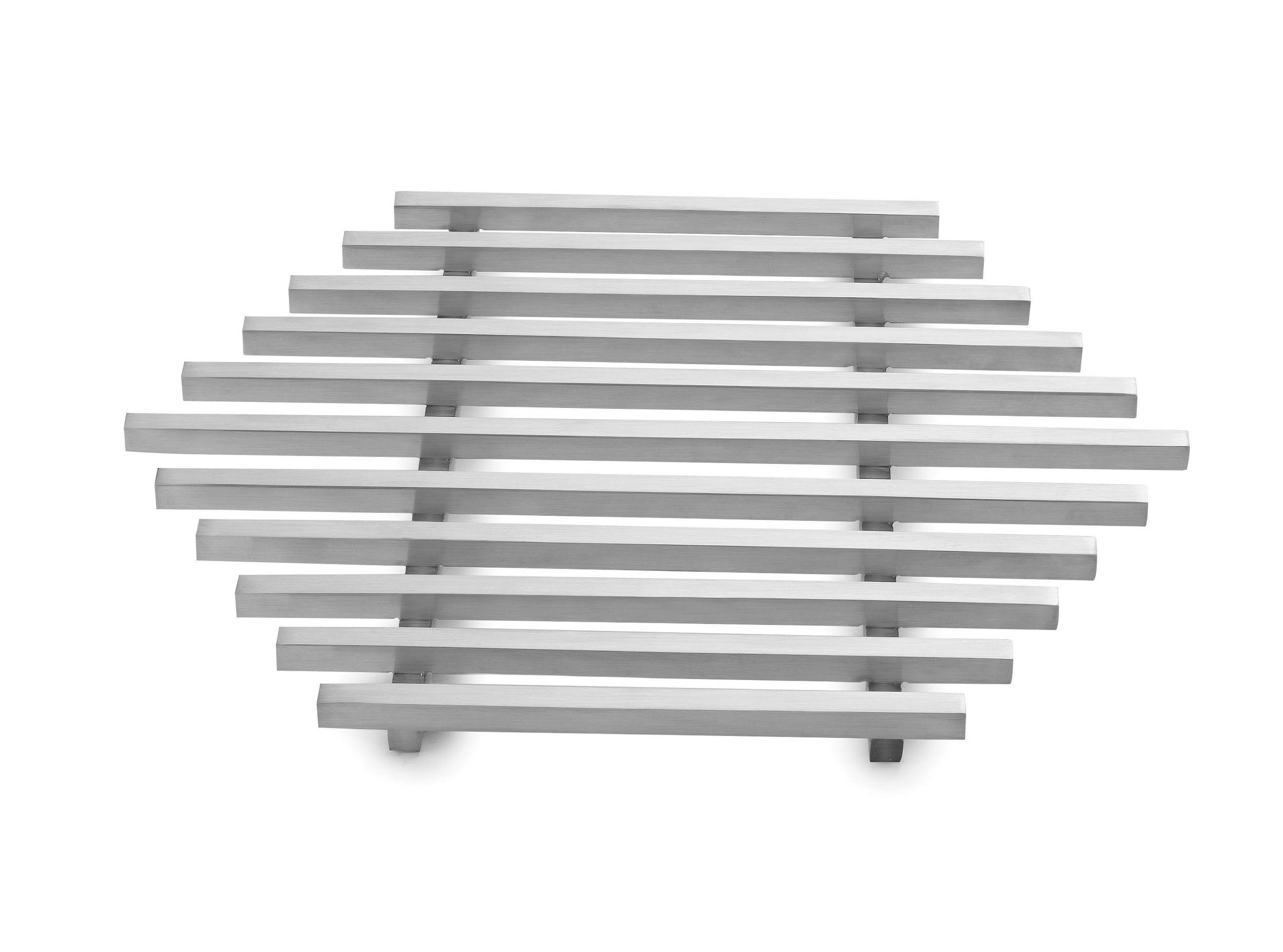 "Rosseto SM224 Honeycomb™ Medium Stainless Steel Track Grill 15"" x 13"" x 0.8"""
