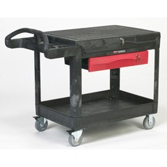 TradeMaster Professional Contractors Cart, 52-1/2 x 38-5/8 x 37-7/8, Black Foam