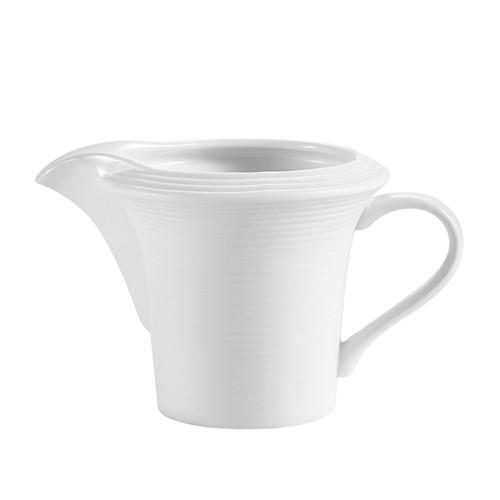CAC China TST-PC Transitions Porcelain Creamer 4 oz.