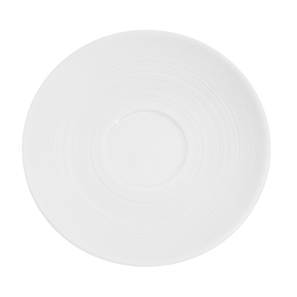 CAC China TST-2 Transitions Porcelain Saucer, 6""