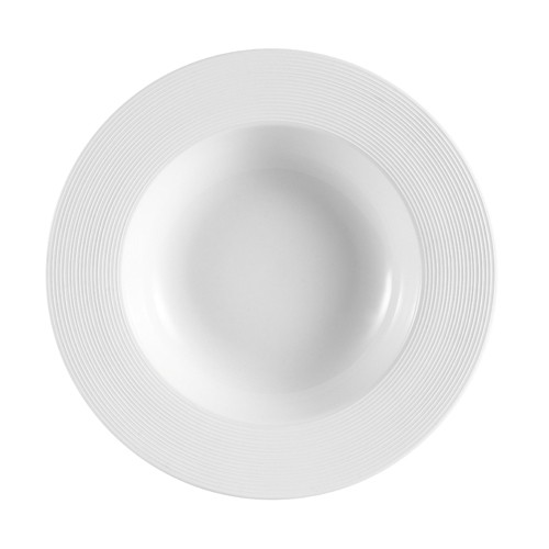 CAC China TST-3 Transitions Porcelain Soup Plate 8.5 oz.