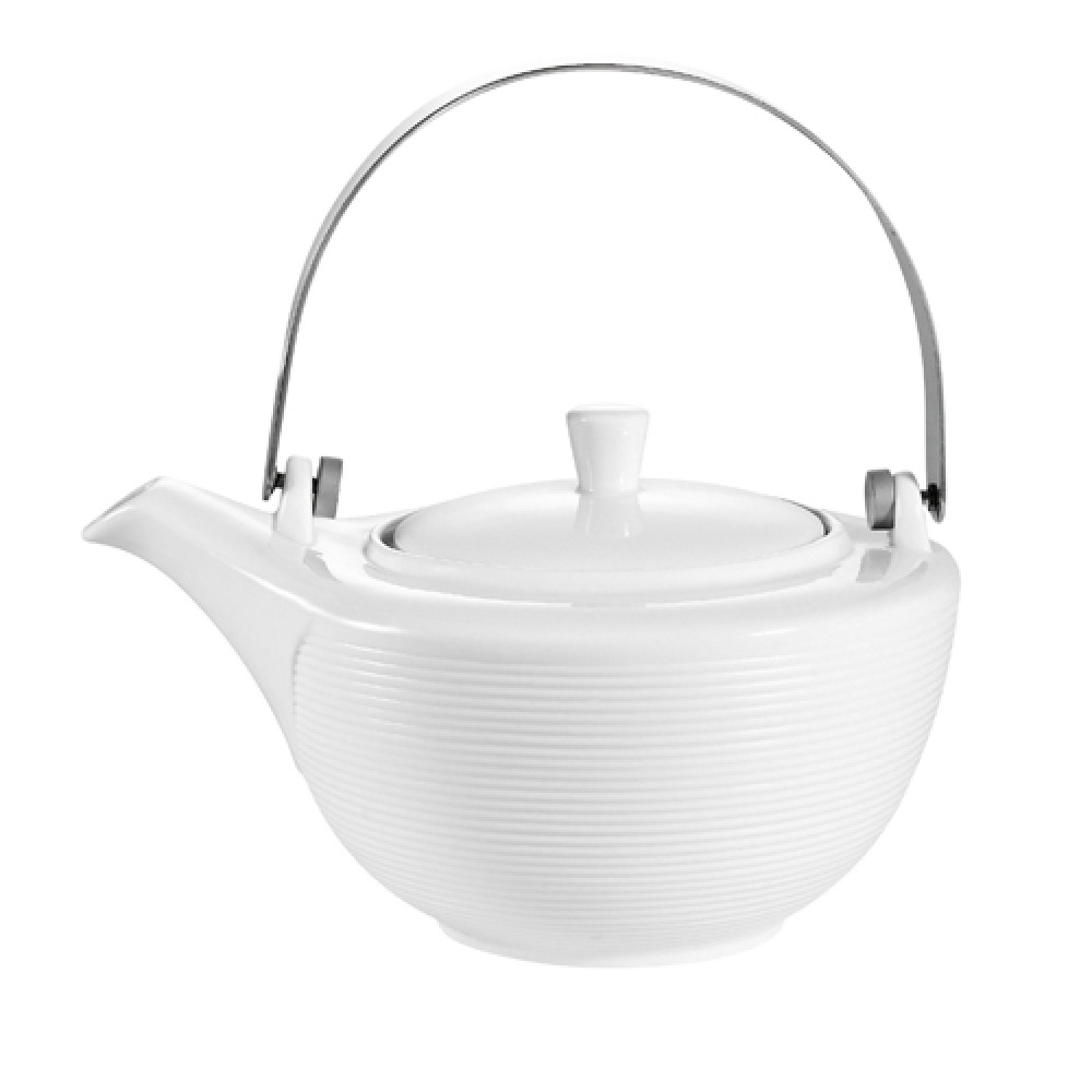 CAC China TST-TP Transitions Porcelain Tea Pot 32 oz.