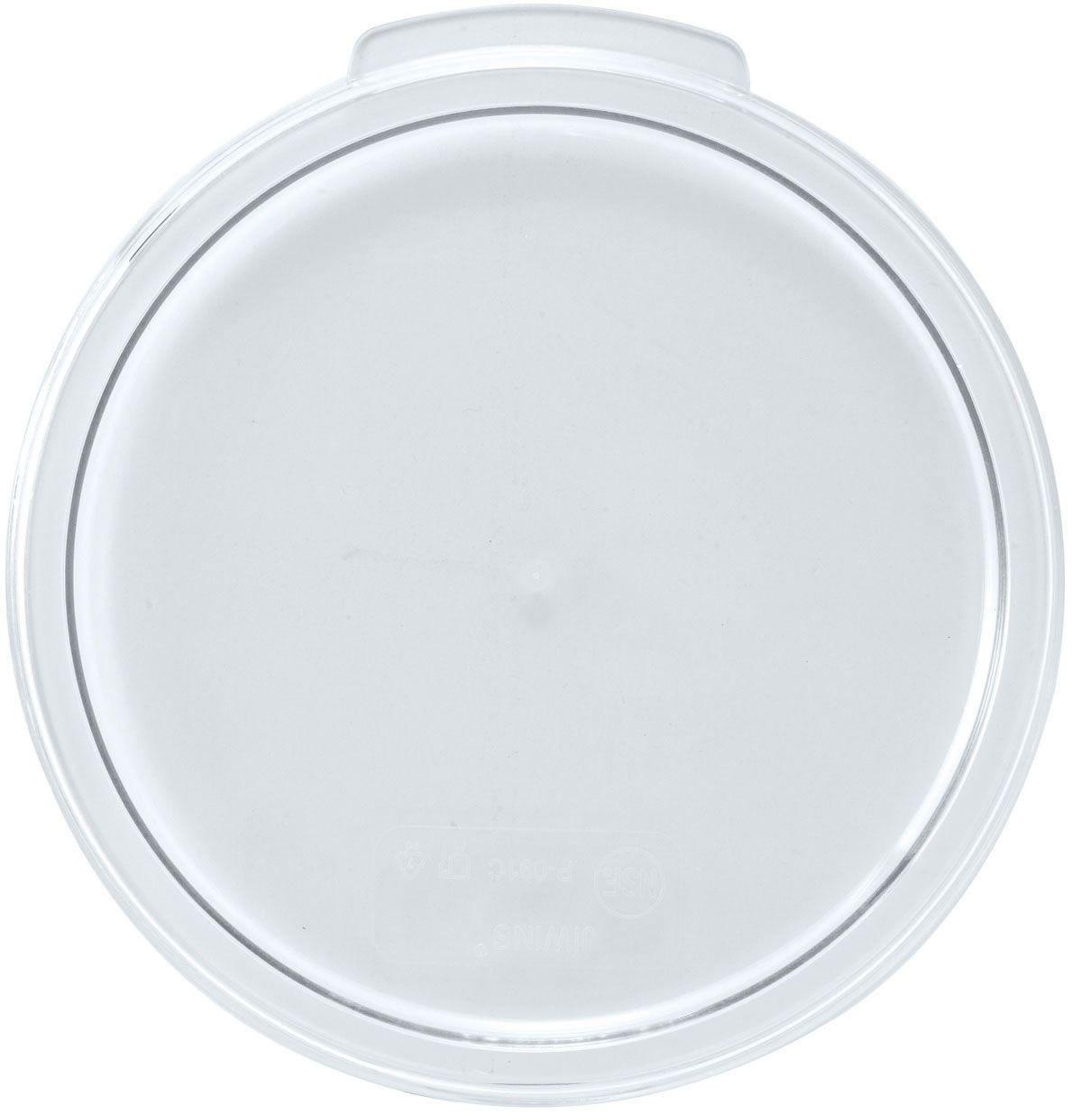 Winco PTRC-1C Translucent Food Storage Cover For 1 Qt. Container