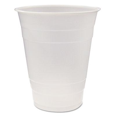 Translucent Plastic Cups, 16 oz., 960/Carton