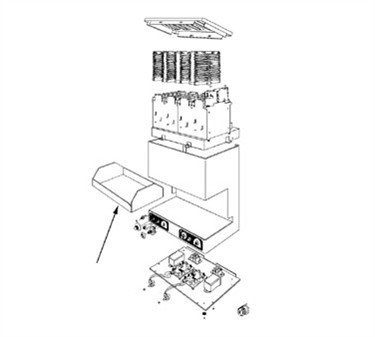 Franklin Machine Products  189-1048 Tray, Toast Receiving (Pop Down)