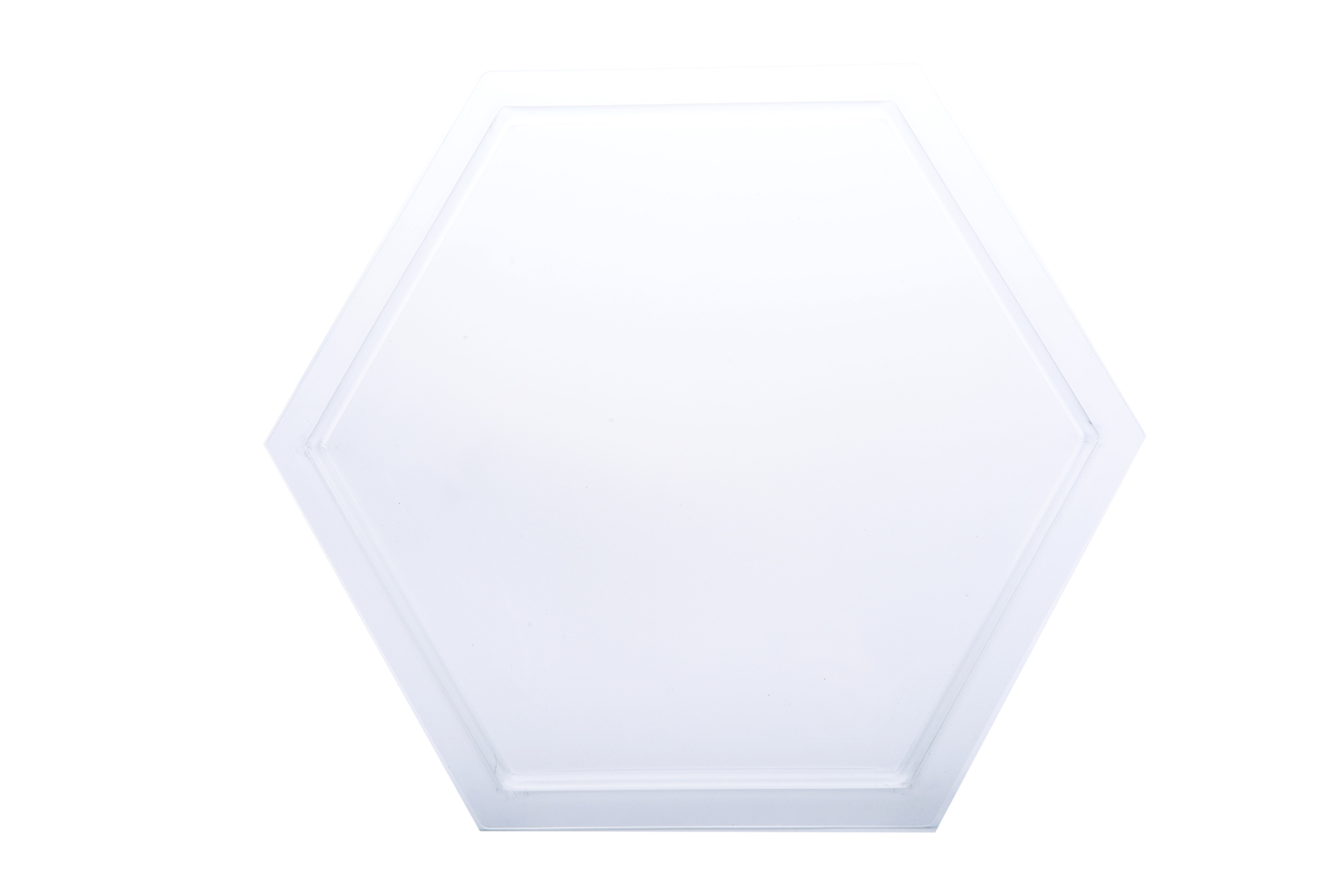 Frosted Acrylic Tray for Small Honeycomb Riser