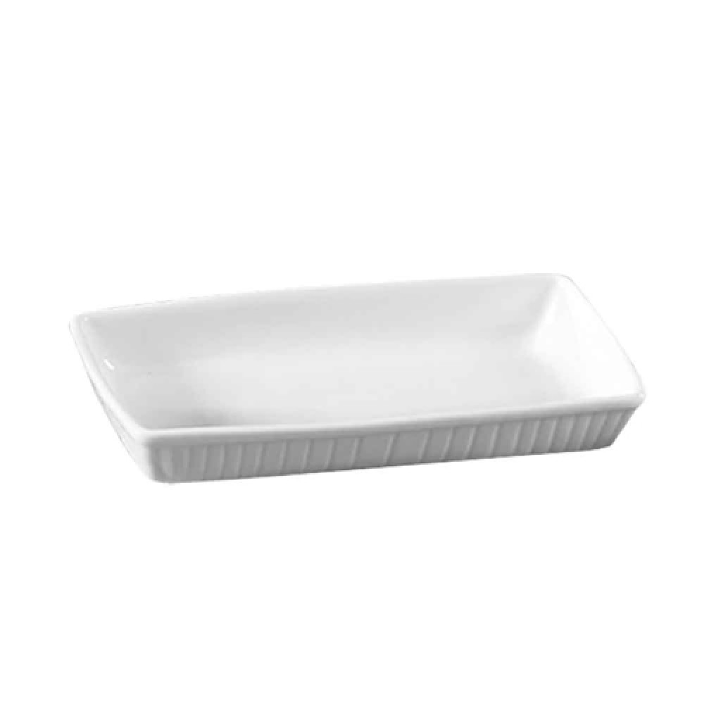 "CAC China TSP-7 Clinton Rectangular Serving Platter,15 1/2"" x 7 3/4"" x 2 3/8"""