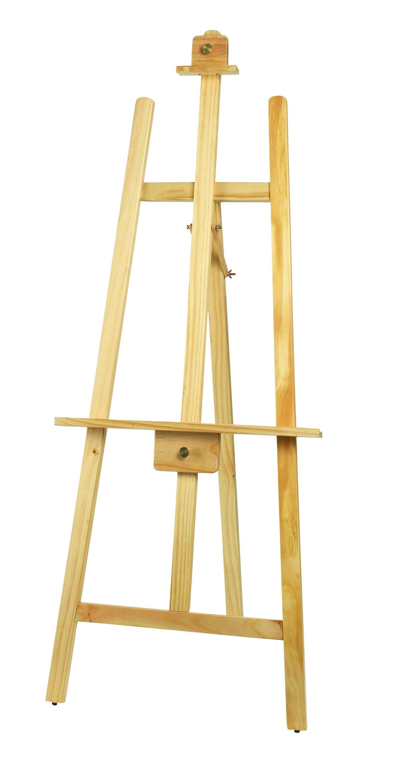 "Winco MBBE-1 Wooden Display Easel, Natural Color 62"" x 24"""