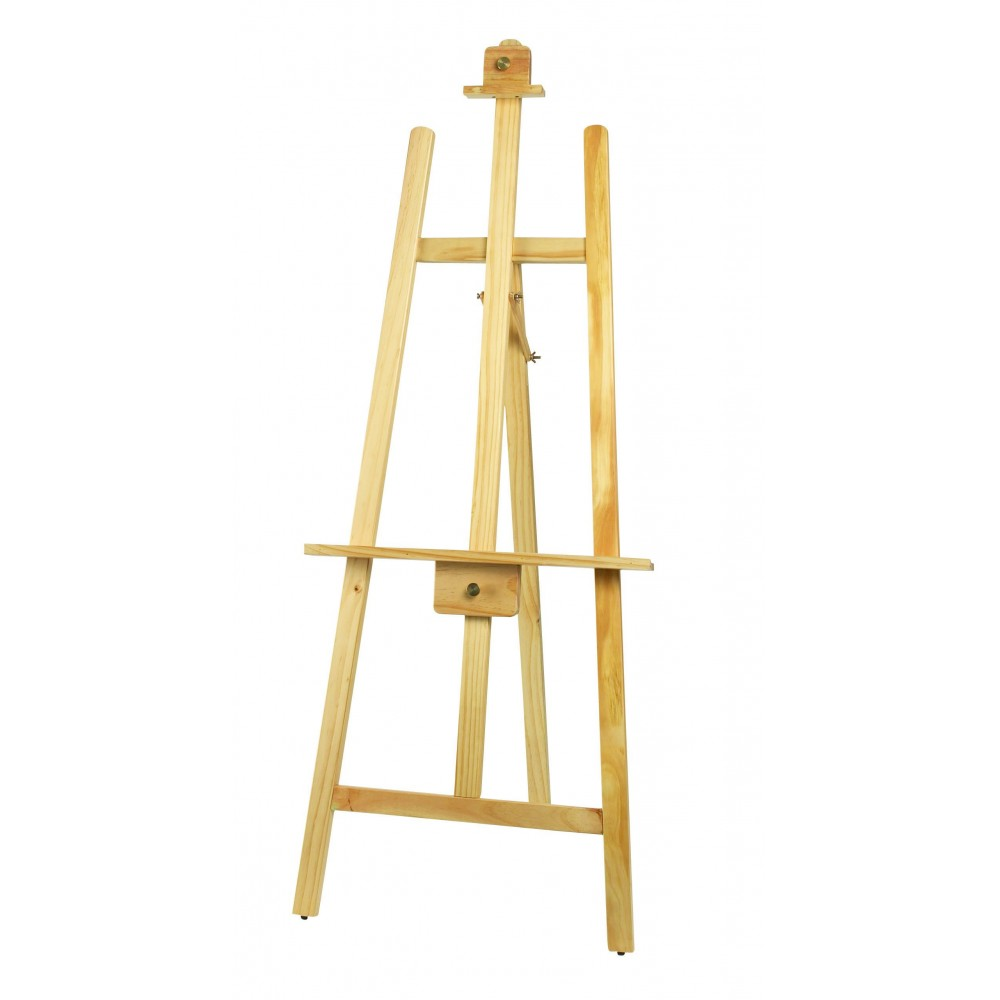 Tripod Display Easel, Natural Color