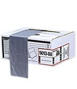 Tuffmade Polyliner Bags, 22gal, 2mil, 24 1/2w x 38 3/4h, Gray