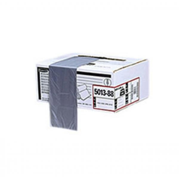 Tuffmade Polyliner Bags, 50gal, 2mil, 37w x 44h, Gray