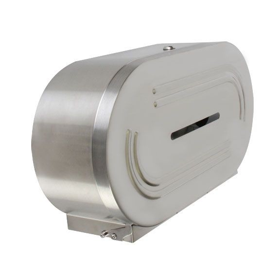 Thunder Group SLTD302 Twin Jumbo-Roll Toilet Tissue Dispenser