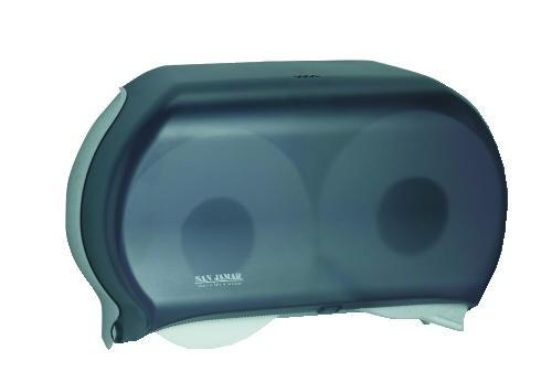 Twin Roll Toliet Tissue Dispenser, 19 X 5.25 X 12, 9