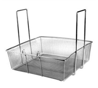 Franklin Machine Products  225-1027 Two-Handled Square Fry Basket with Front Hook 17""