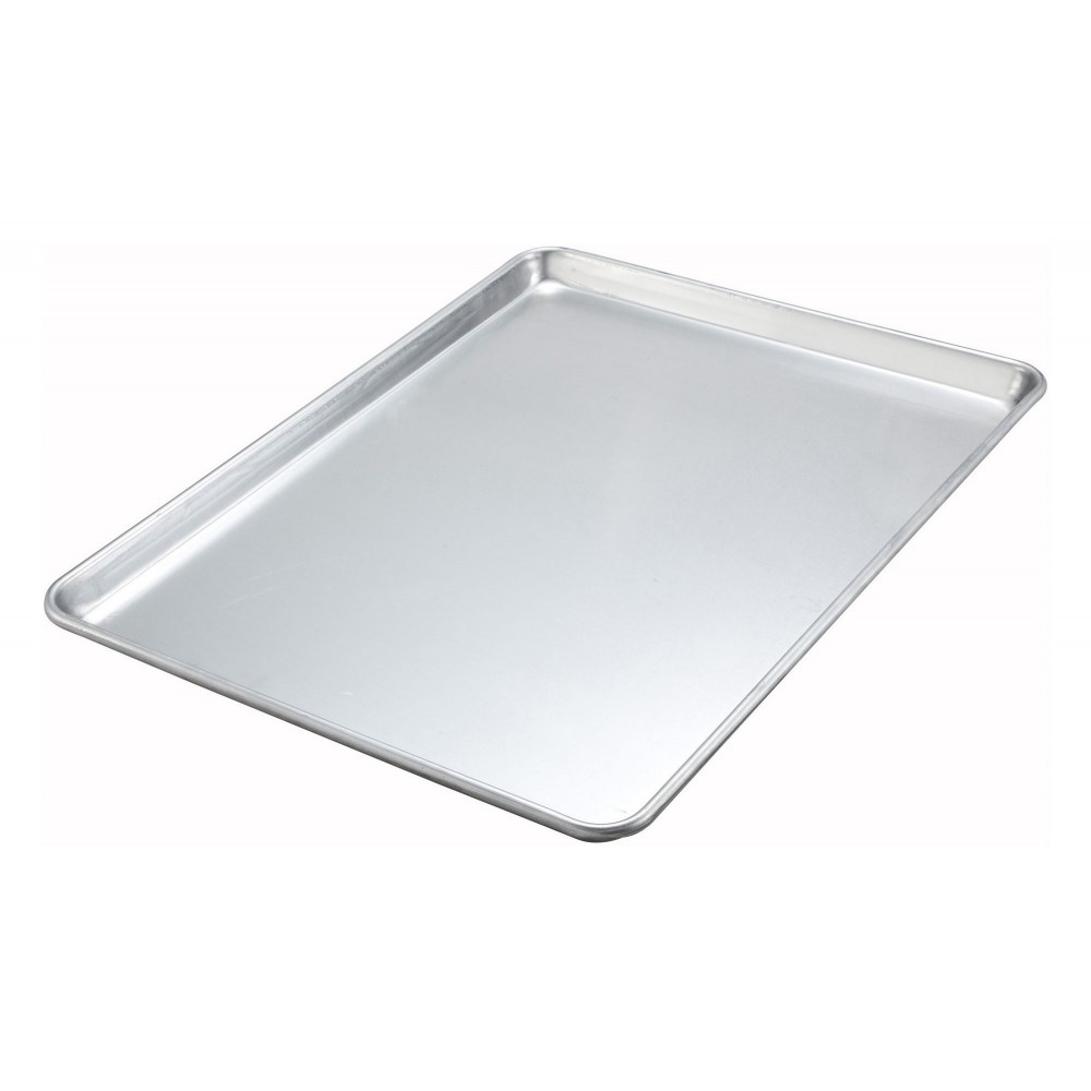 Two-Third Size 18-Gauge Aluminum Sheet Pan - 16 X 22 (NSF)
